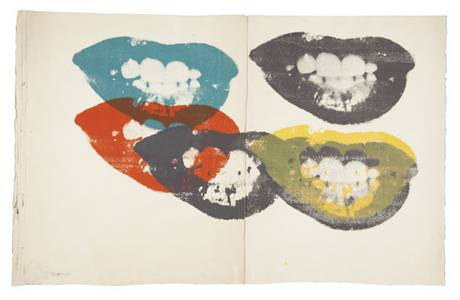 Marilyn Monroe's lips by Andy Warhol sell for 40 times their estimate at auction