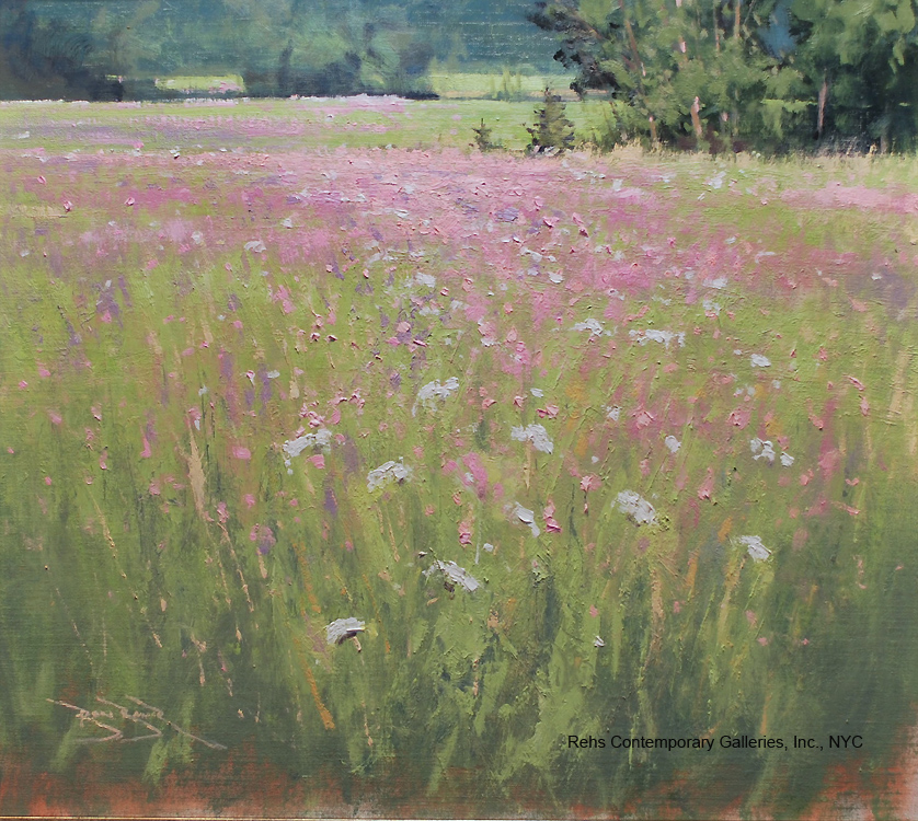 "Painting of the Day (AVAILABLE) Ben Bauer's ""Carlson Meadow"""