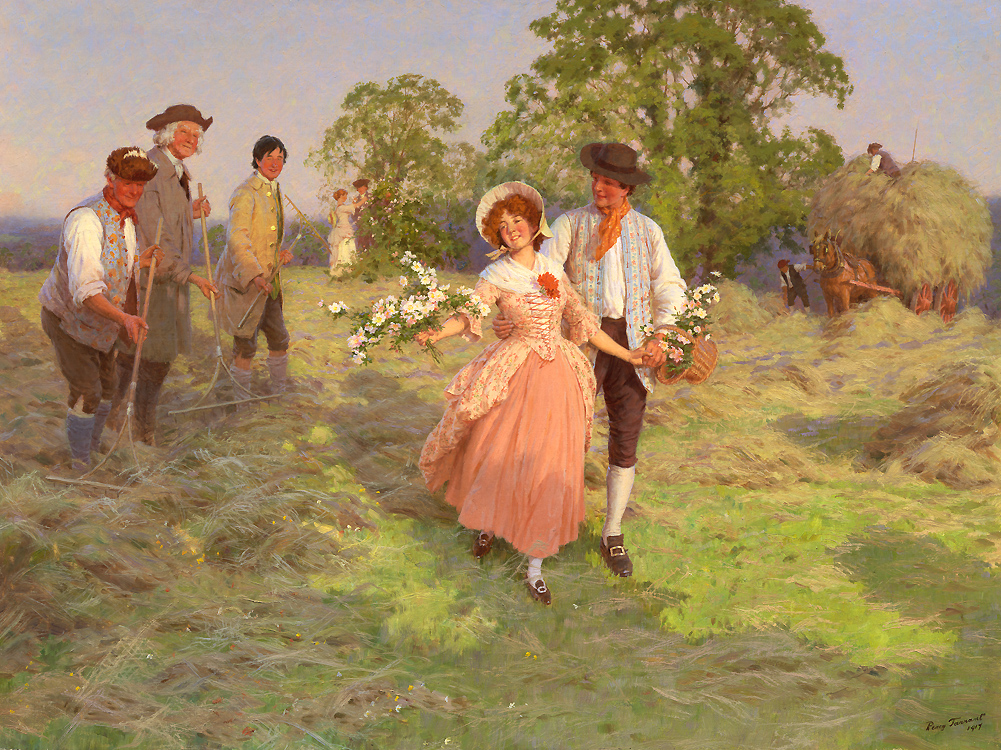 """Painting of the Day (SOLD archives) – Percy Tarrant's """"Our Dolly"""""""