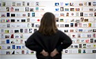 RCA Secret postcard sale sees hundreds brave freezing temperatures to buy art