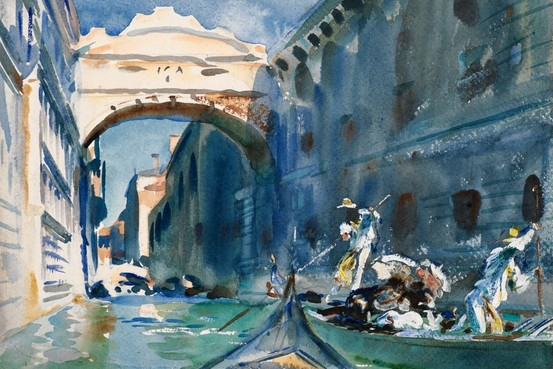 Fluid, Evanescent Images – John Singer Sargent Watercolors at the Brooklyn Museum