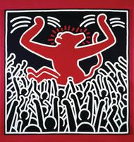 """""""Keith Haring: The Political Line"""" runs through Aug. 18 Musee d'Art Moderne de la Ville de Paris"""