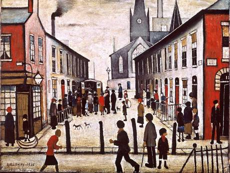 Lowry and the Painting of Modern Life set to open at the Tate Britain in June
