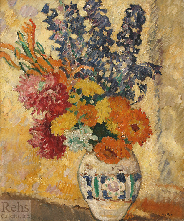 "Painting of the Day (SOLD archives) – Louis Valtat's ""Grand vase de fleurs"""