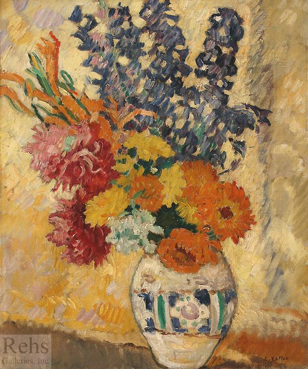 "Painting of the Day (SOLD archives) – Louis Valtat's ""Grand vase de fleurs"""