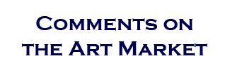 comments on the art market