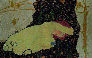 """Egon Schiele """"Danaë"""""""
