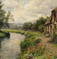 louis_aston_knight_e1167_a_cottage_in_the_meadow_wm