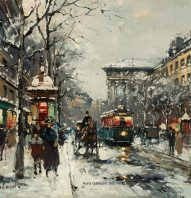 antoine_blanchard_e1164_boulevard_de_la_madeleine_in_winter_wm