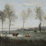 Jean-Baptiste-Camille Corot - Paturage dans les Marais (Souvenir des environs d'Amiens)