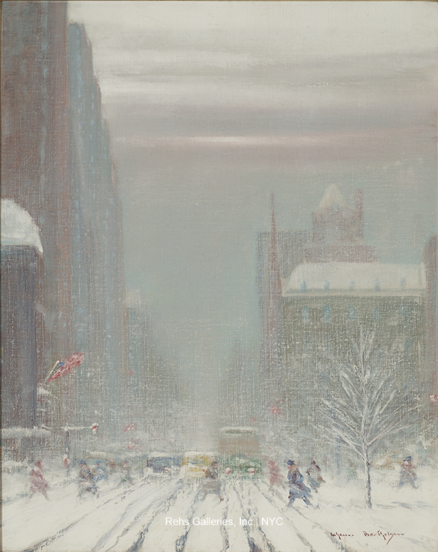 Johann Berthelsen - 5th Avenue Looking South from 59th Street