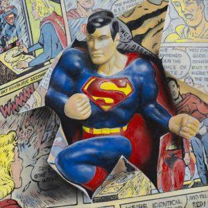 CESAR SANTANDER</br>Superman Emerging</br>$2,400