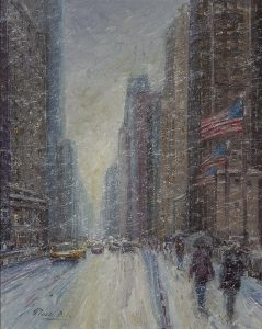 MARK DALY</br>Windy City (Michigan Ave., Winter)