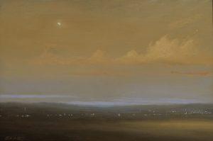 Ken Salaz</br>Amber Waves, Sunset</br>$995