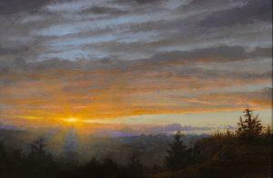 Ken Salaz</br>Catskill Sunset - 9.2.16</br>$1,600