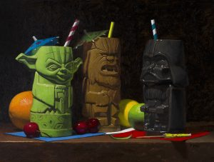 TODD M. CASEY</br>Star Wars Tiki</br>$3,000