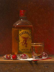 TODD M. CASEY</br>Fireball Whiskey</br>$1,200