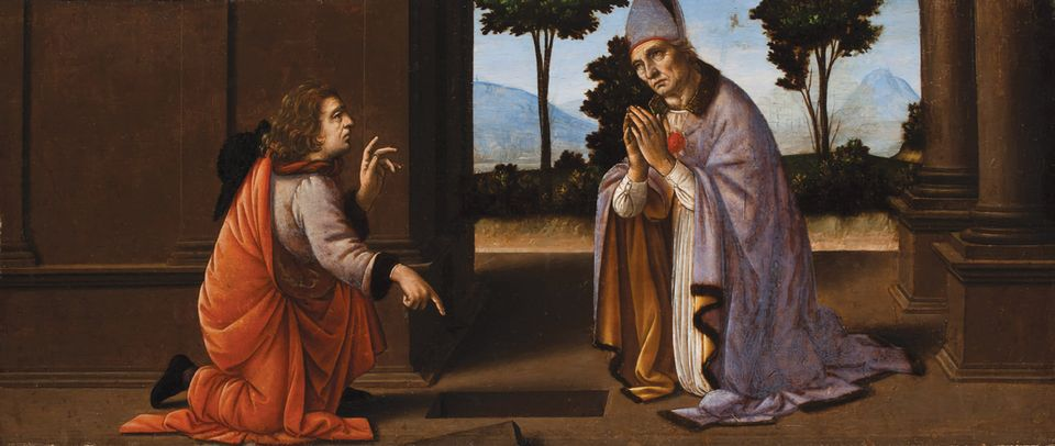 A Miracle of Saint Donatus of Arezzo (around 1479-85). Image: © and courtesy of the Worcester Art Museum, Massachusetts