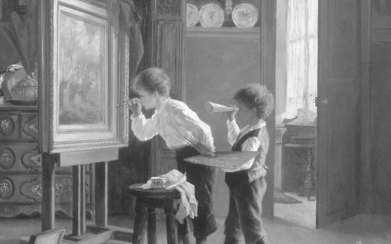 jean_p_haag_b1136_the_young_critic_black_white_banner