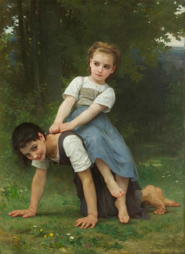 William-Adolphe_Bouguereau_-_The_Horseback_Ride