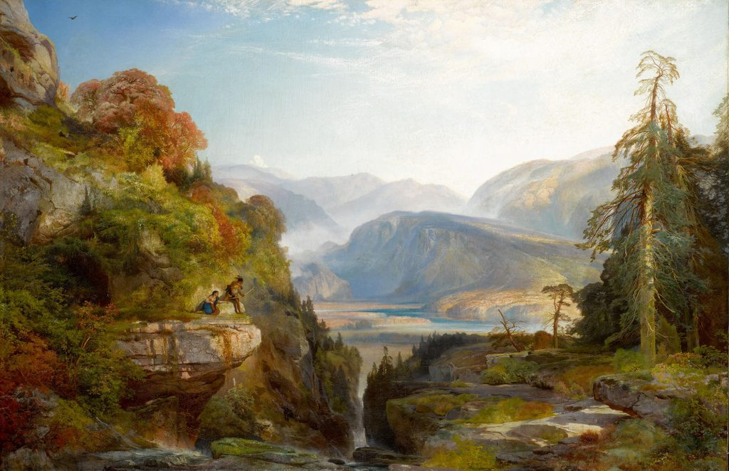 thomas_moran__the_last_arrow