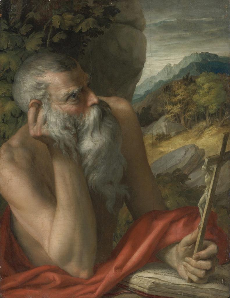Parmigianino, Saint Jerome