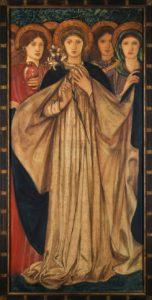 """Burne-Jones """"The Three Marys"""""""