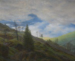 """Friedrich """"Sunburst in the Riesengebirge"""""""