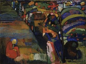 "Kandinsky ""Painting With Houses"""