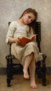 """William A. Bouguereau """"Le Livre de Prix"""""""