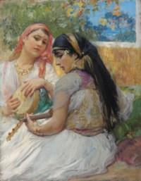 "Frederick A. Bridgman ""Two Young Algerians"""