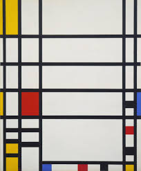 "Piet Mondrian ""Trafalgar Square"" MOMA"