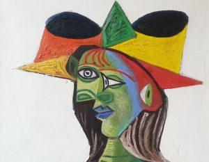 Detail: Picasso's Buste de Femme (Dora Maar)