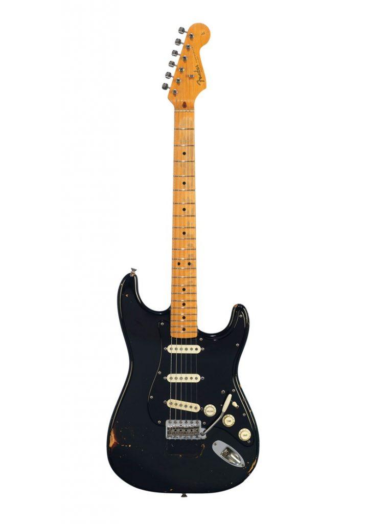 David Gilmour's Black Fender