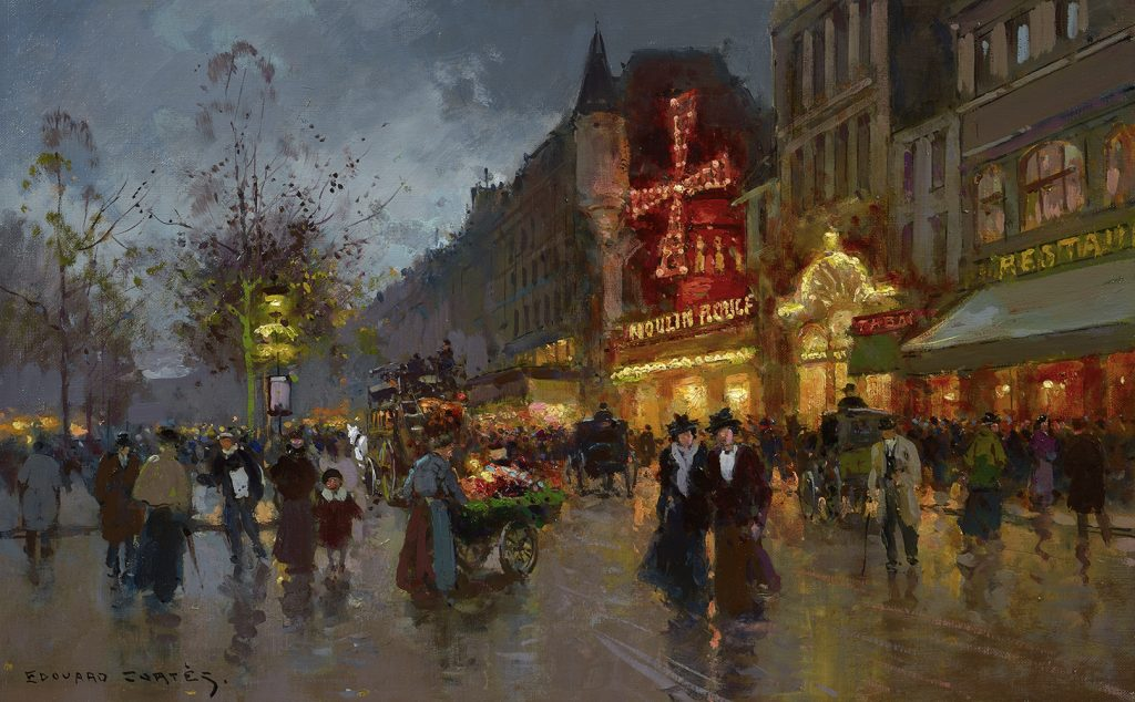Edouard Cortes - Moulin Rouge