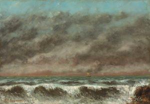 """Courbet's """"Marine"""""""