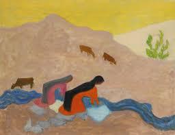 Milton Avery's Mexican Washerwomen
