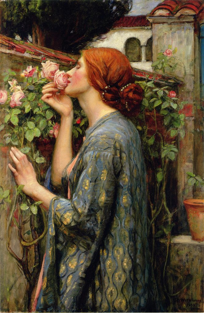 "Waterhouse ""The Soul of the Rose"""