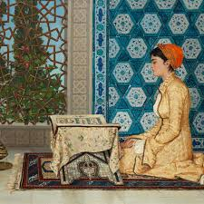Osman Hamdi Bey's Young Girl Reading