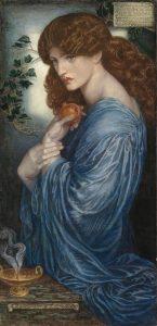"Rossetti ""Proserpine"""