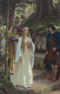 Edmund Blair Leighton's My Lady Passeth By