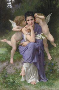 """Bouguereau """"Chansons de printemps"""""""