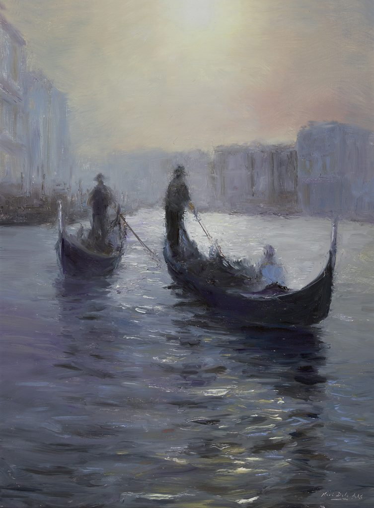 Mark Daly - Impression, Venice Sunset