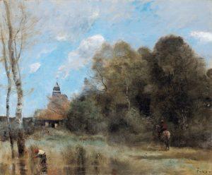 Jean B.C. Corot's Saint-Nicolas-Lez-Arras…