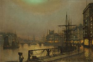 Grimshaw's Whitby at Night
