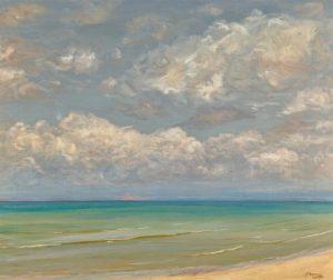 Sir John Lavery's A Southern Sea