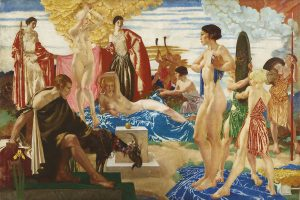 Sir William Russell Flint's The Judgment of Paris
