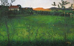 Harald Sohlberg's Modne Jorder (Ripe Fields)