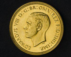 King Edward VIII Sovereign