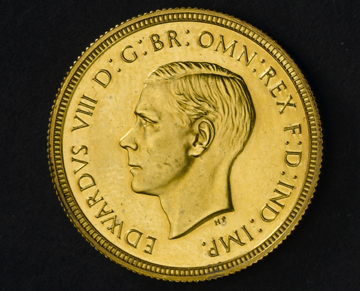 King Edward VIII Sovereign